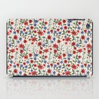 poppies iPad Cases featuring Poppies by moniquilla
