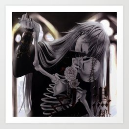 dance with death Art Print