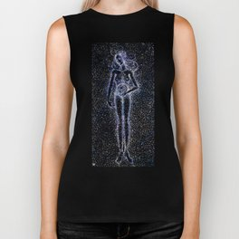 Nuit - The Starry Goddess Biker Tank