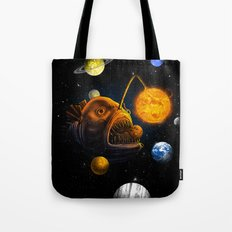 Cosmic Angler  Tote Bag
