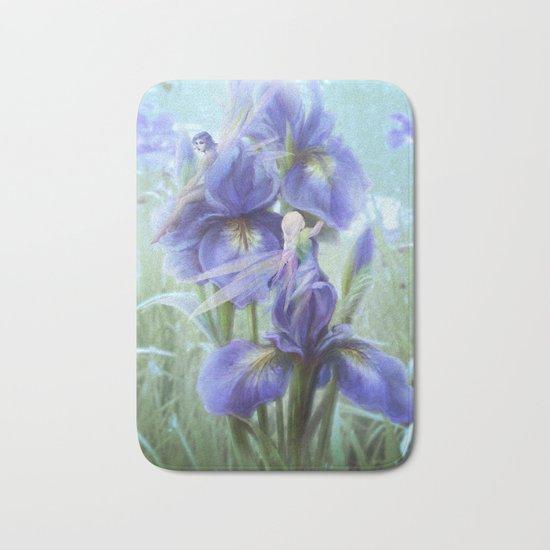Imagine - Fantasy iris fairies Bath Mat