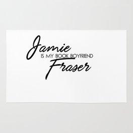 Jamie Fraser Book Boyfriend Rug