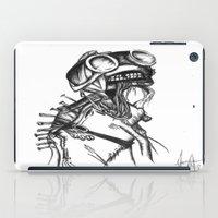 sandman iPad Cases featuring Sandman by Jeanette Perlie