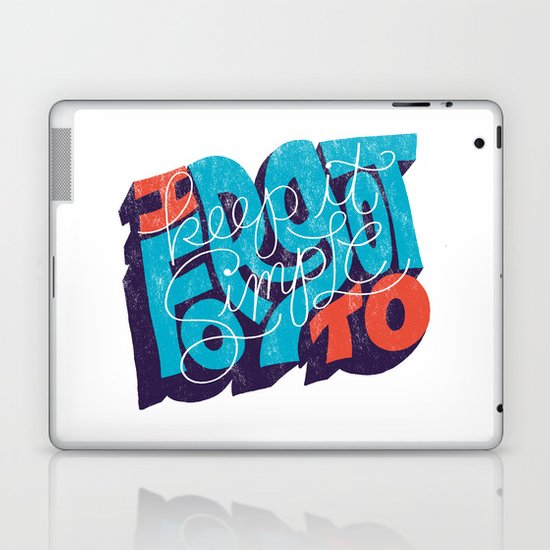 I Forgot to Keep it Simple Laptop & iPad Skin