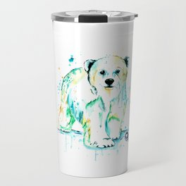 Polar Bear Baby Travel Mug