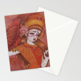 Huo: Vermillion Bird Stationery Cards