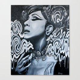 coldest ever Canvas Print