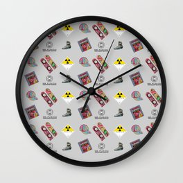 Roads? we don't need roads... Wall Clock