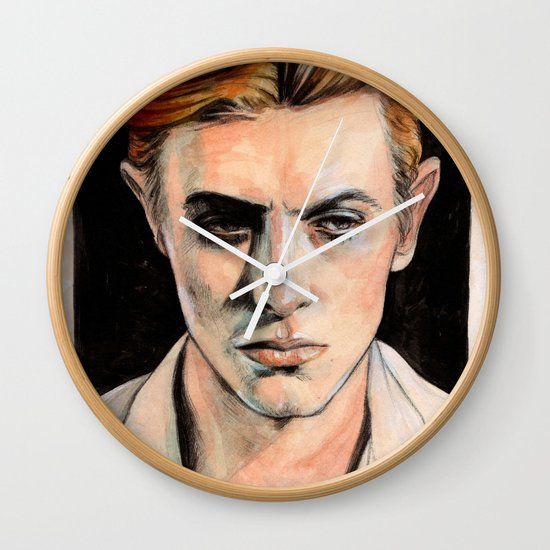Thin White Duke Wall Clock