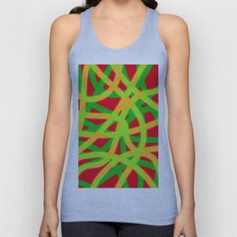lively lines Unisex Tank Top