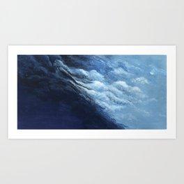 Children's book Cloud Woman print Art Print