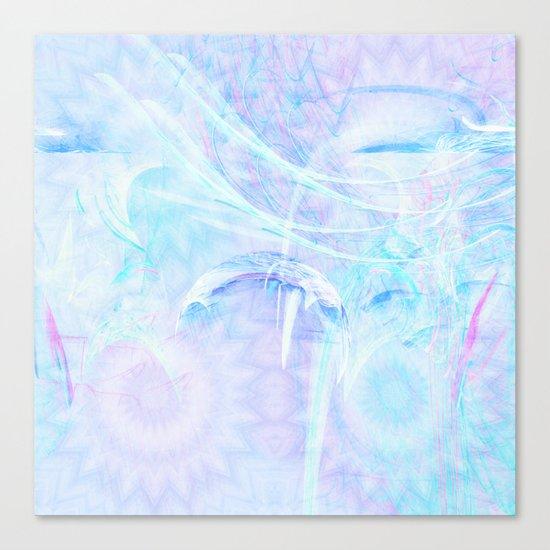 Delicate fairy world Canvas Print