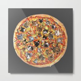 If the internet was a pizza... Metal Print