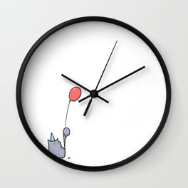 Party Cat Wall Clock