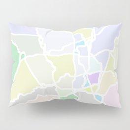Pathways abstract art Pillow Sham
