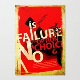 Option or Choice? Canvas Print
