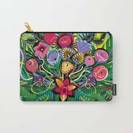 Jungle Foliage Carry-All Pouch