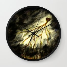Heart Power Wall Clock