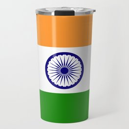 National flag of India - Authentic version to scale and color Travel Mug