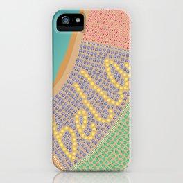 Bella / Beautiful Italy Beach Umbrellas - Aerial Italian iPhone Case