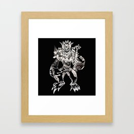 Black Book Series - Mythical Framed Art Print