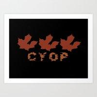 CYOP Fall Leaves Art Print