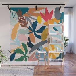 Abstract Floral No.1 Wall Mural