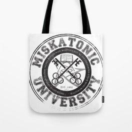 Miskatonic University Emblem (light version) Tote Bag