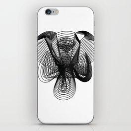 Elephant Face Blended iPhone Skin