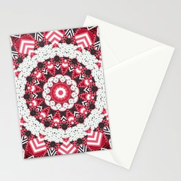 Rustic patchwork Stationery Cards