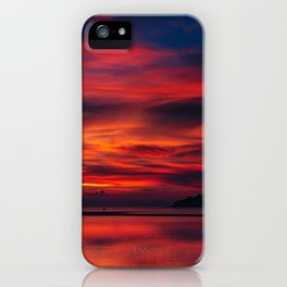 Sunset color on the Koh Phangan iPhone Case