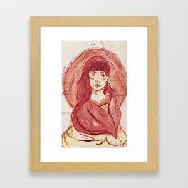 Pink::. Framed Art Print