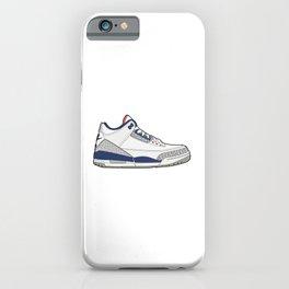 Jordan 3 True Blue iPhone Case