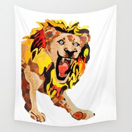 Lion's Den  Wall Tapestry