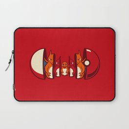 Poketryoshka - Fire Type Laptop Sleeve