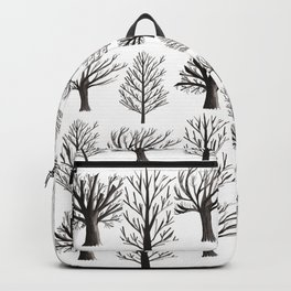 Monochrome Forest Backpack