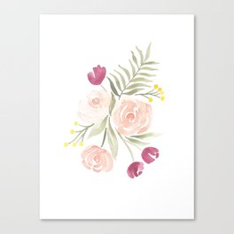 Watercolor Florals for Spring? Groundbreaking. Canvas Print