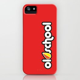 OLDSCHOOL v3 HQvector iPhone Case
