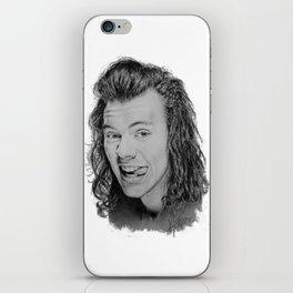 Portrait of Harry Styles iPhone Skin