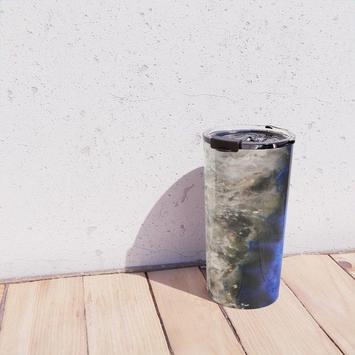 Blue Geode Travel Mug