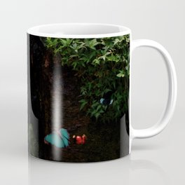 Cyan Butterflies Coffee Mug