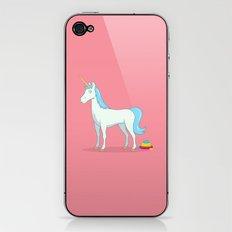 Unicorn Poop iPhone & iPod Skin