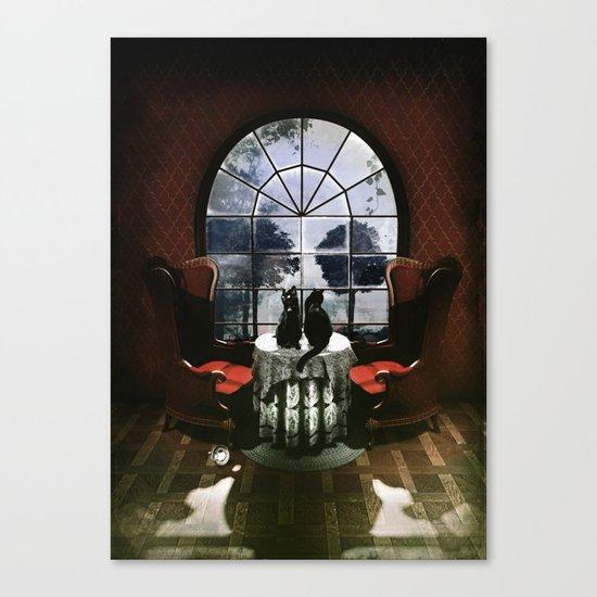 Room Skull Canvas Print