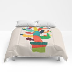 Whimsical Cactus Comforters