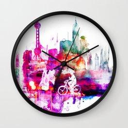 When it rains. Wall Clock