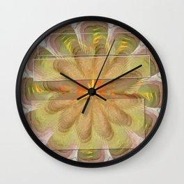 Sluffed Raw Flower  ID:16165-085108-61771 Wall Clock