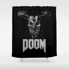 Doom - Icon of Sin Shower Curtain