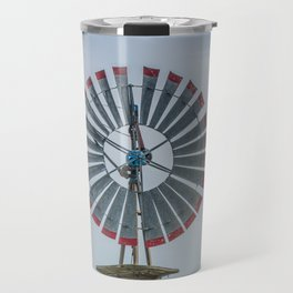Goodhue Special Windmill by Appleton in Windmill Mecca Batavia Illinois Travel Mug
