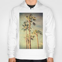 palms Hoodies featuring palms by Sylvia Cook Photography