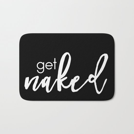 get naked // white on black by darkmaskedcats